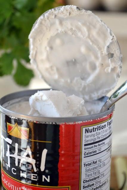 Coconut Milk for Thai Coconut Soup