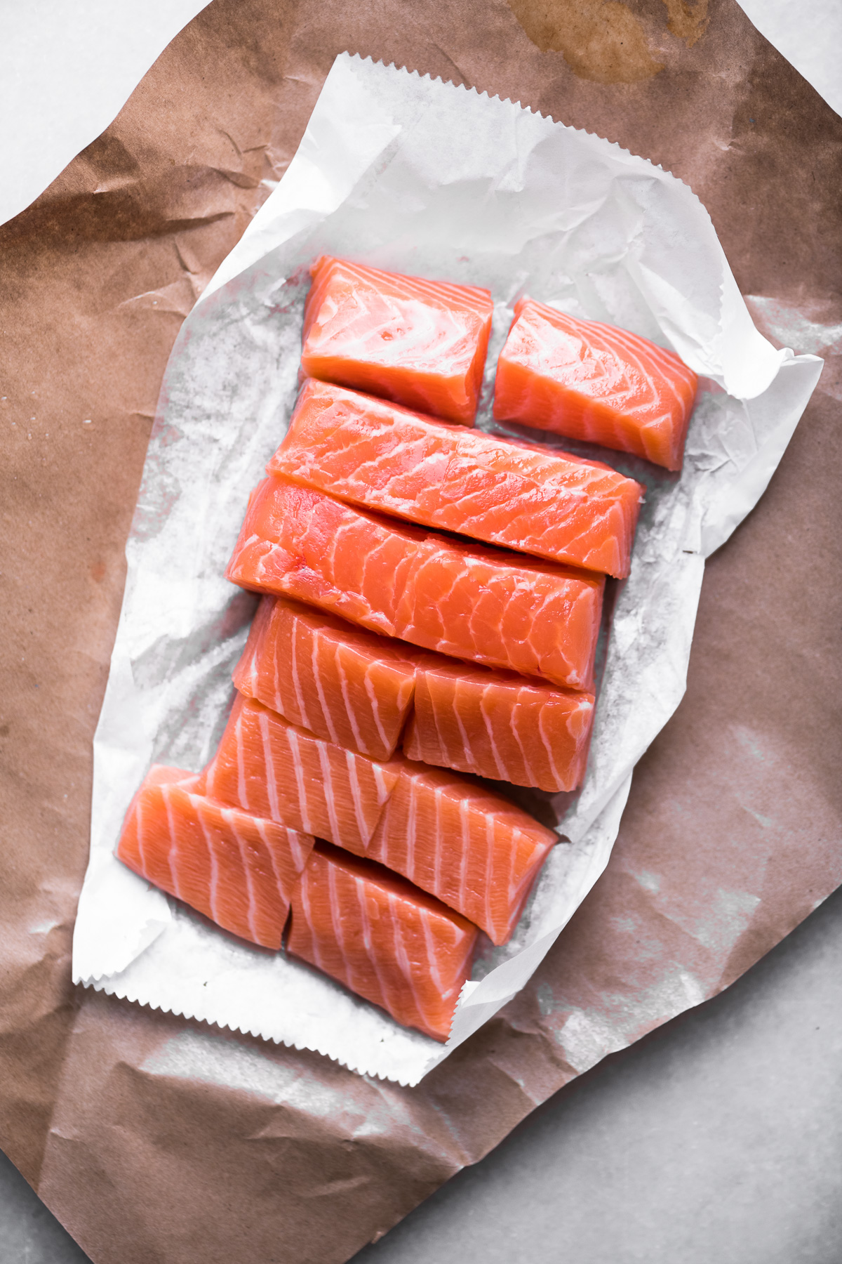 salmon fillet for salmon coconut curry