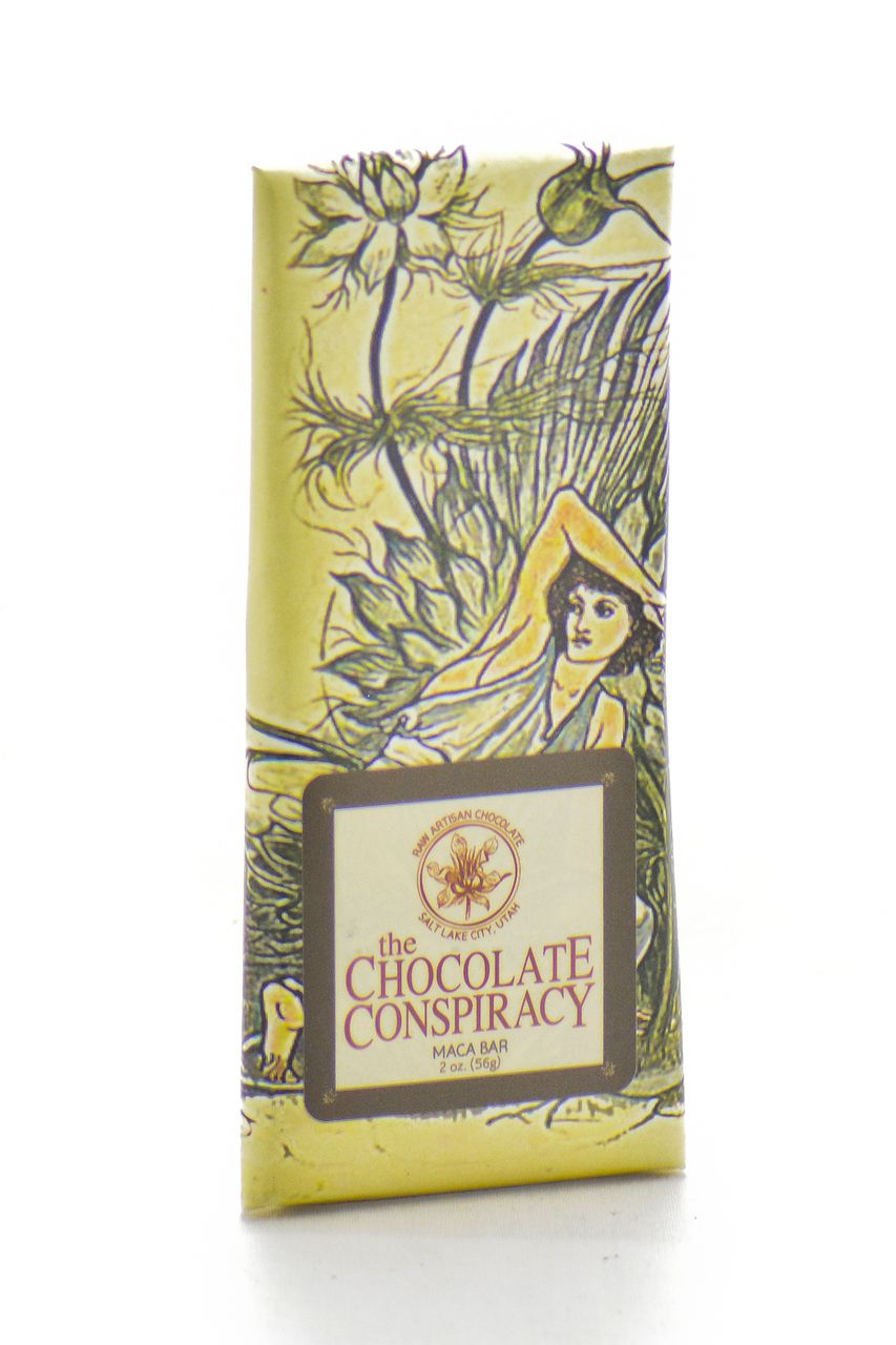 The Chocolate Conspiracy raw chocolate bar
