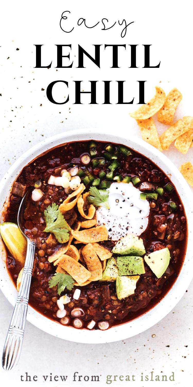 lentil chili pin