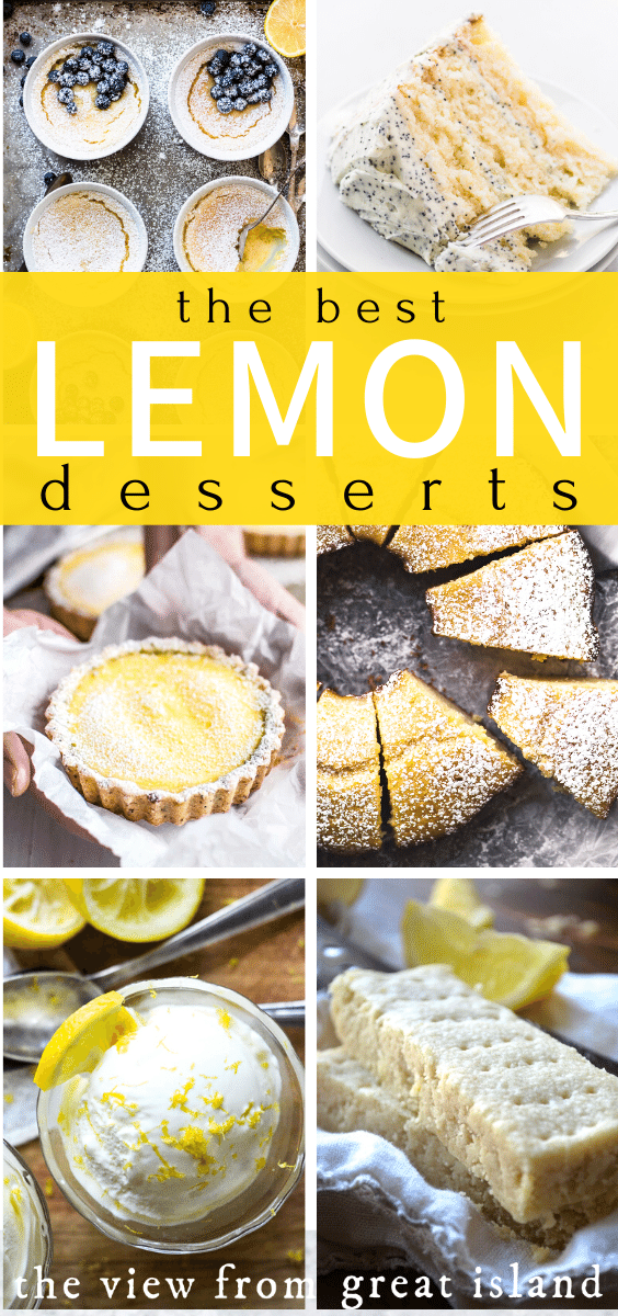 lemon desserts pin