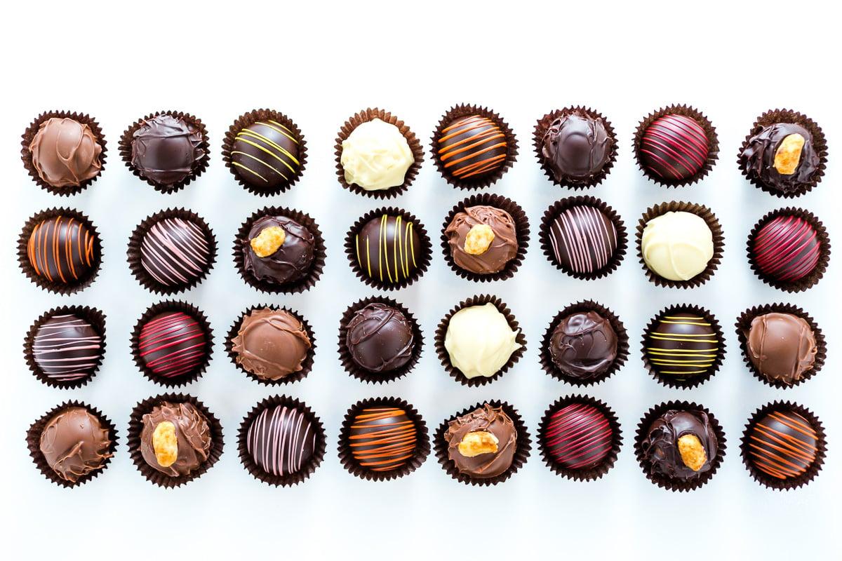 small batch craft chocolates