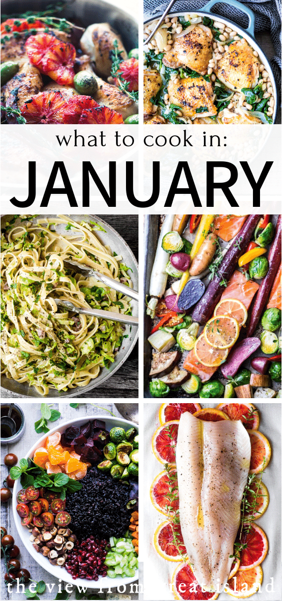 what to cook in january pin