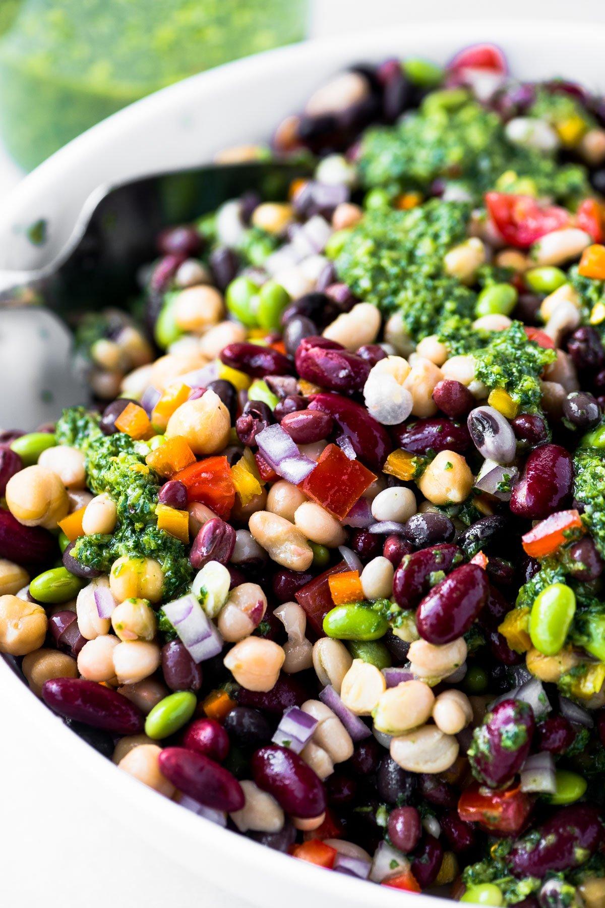 7 bean salad