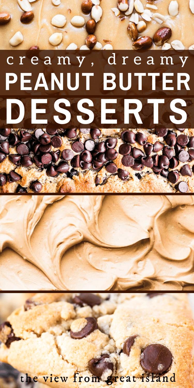 peanut butter desserts pin