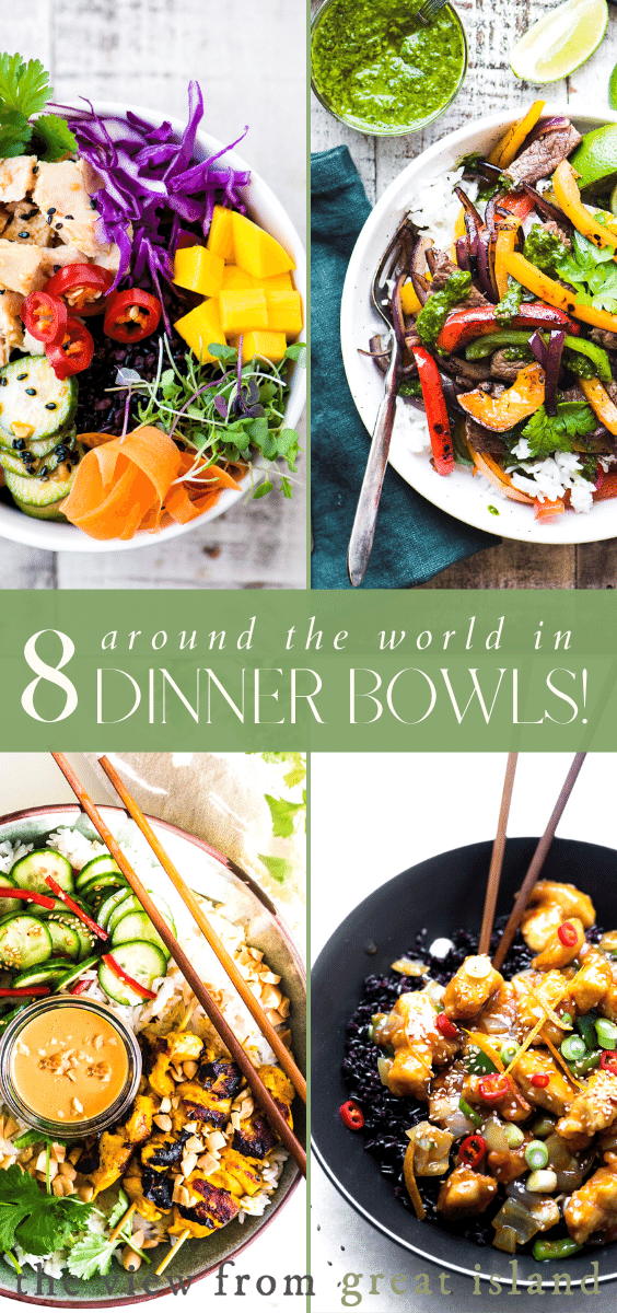 8 dinner bowls pin