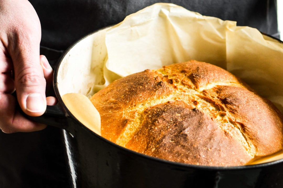 Easy Dutch Oven Bread Recipe The View From Great Island