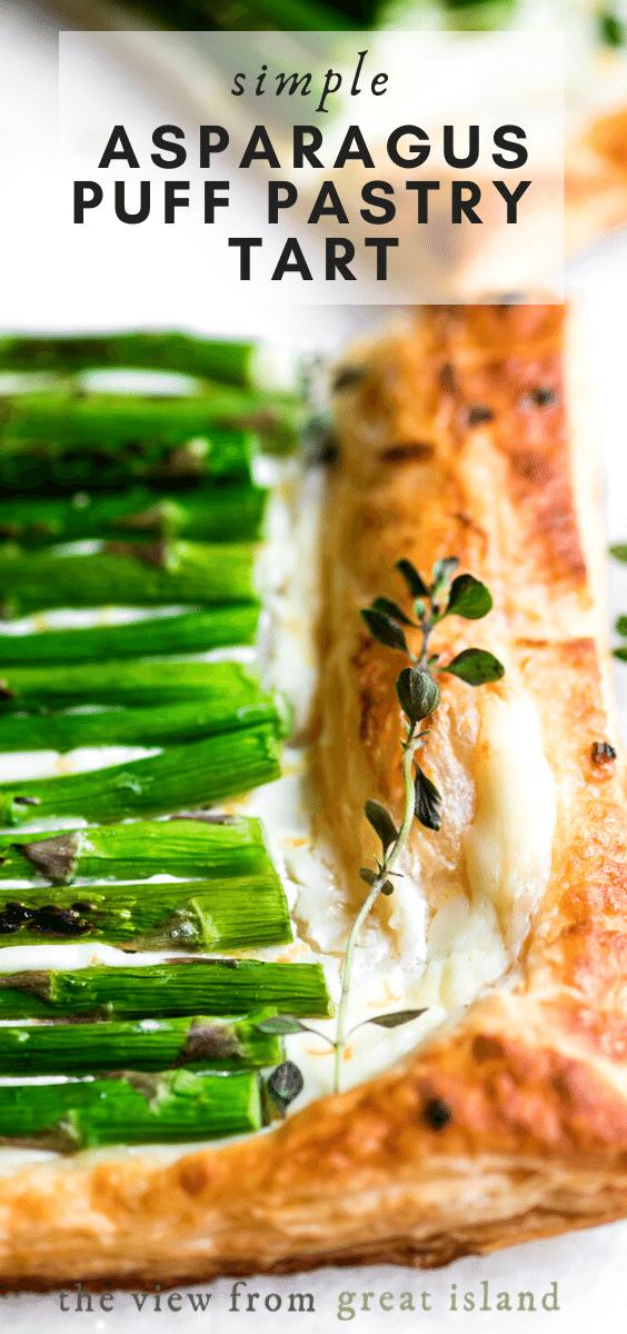 asparagus tart pin
