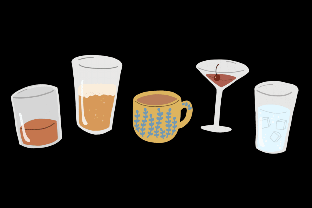 virtual cocktail party drinks