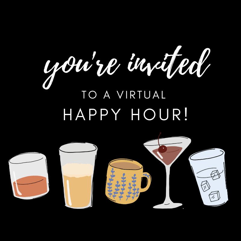 How to Host a Virtual Happy Hour! | The View from Great Island