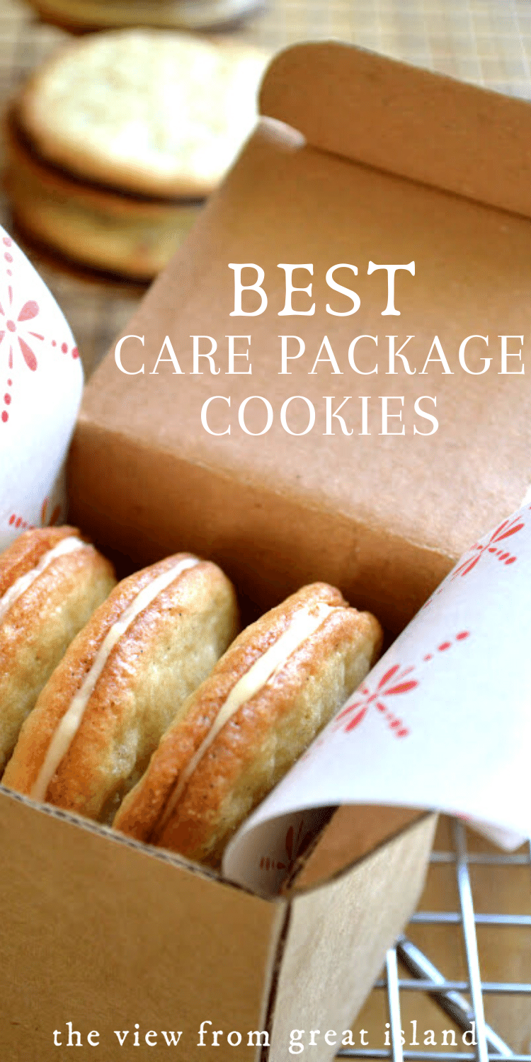 Best care package cookie recipes pin