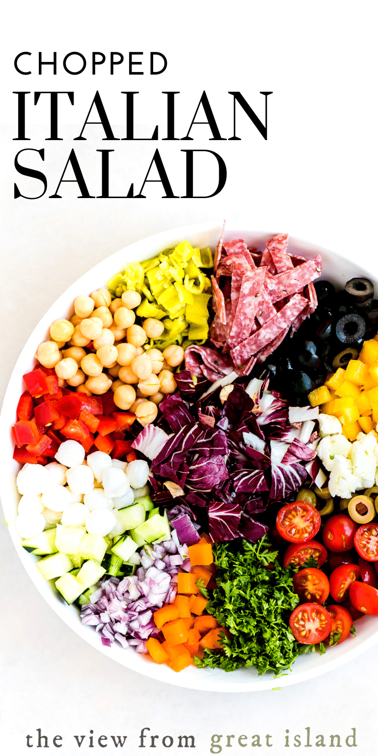 chopped italian salad pin