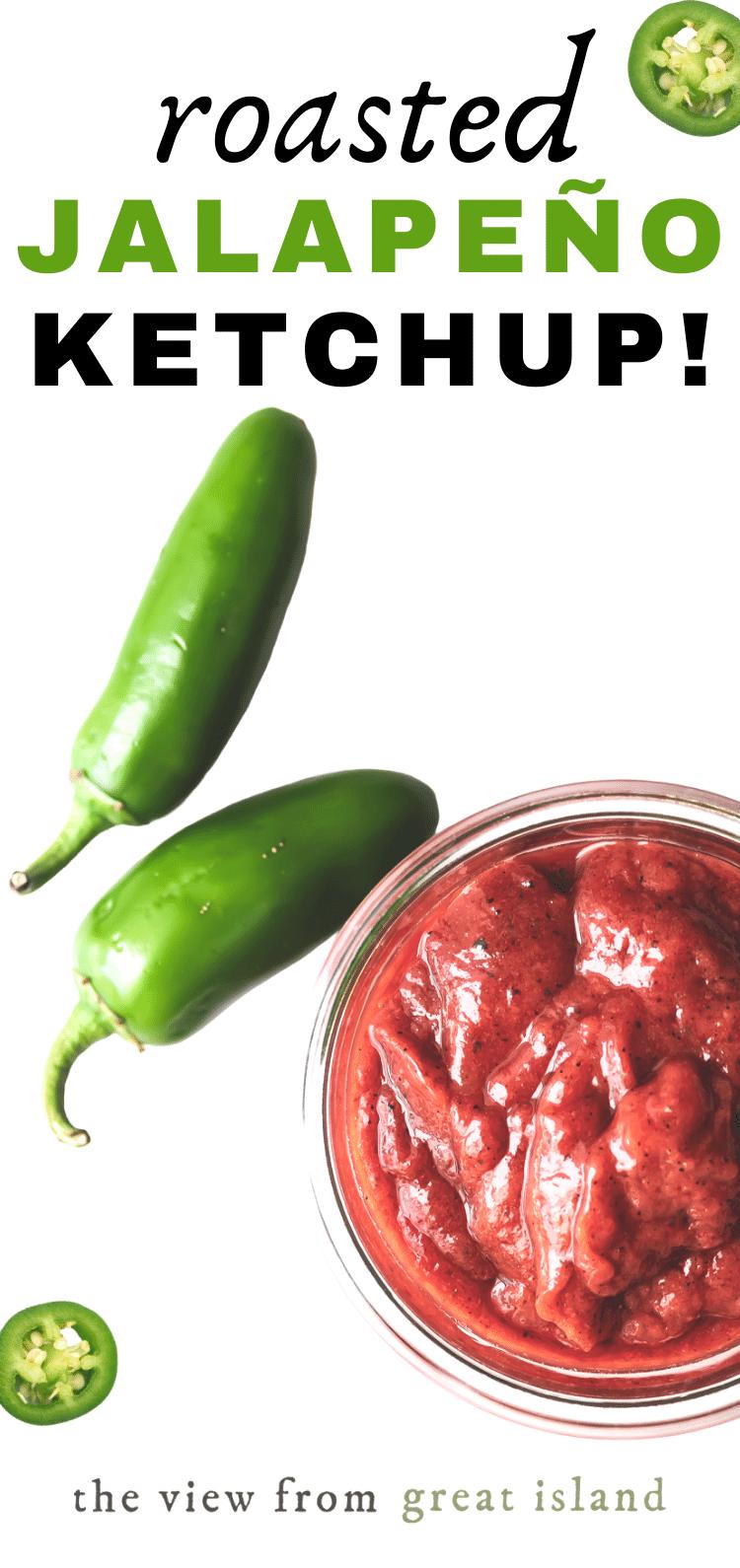 Jalapeño ketchup pin
