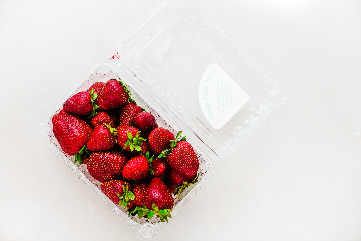 a pound of strawberries