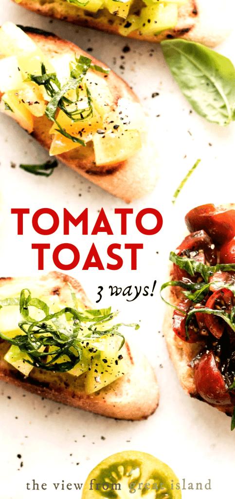 tomato toast pin