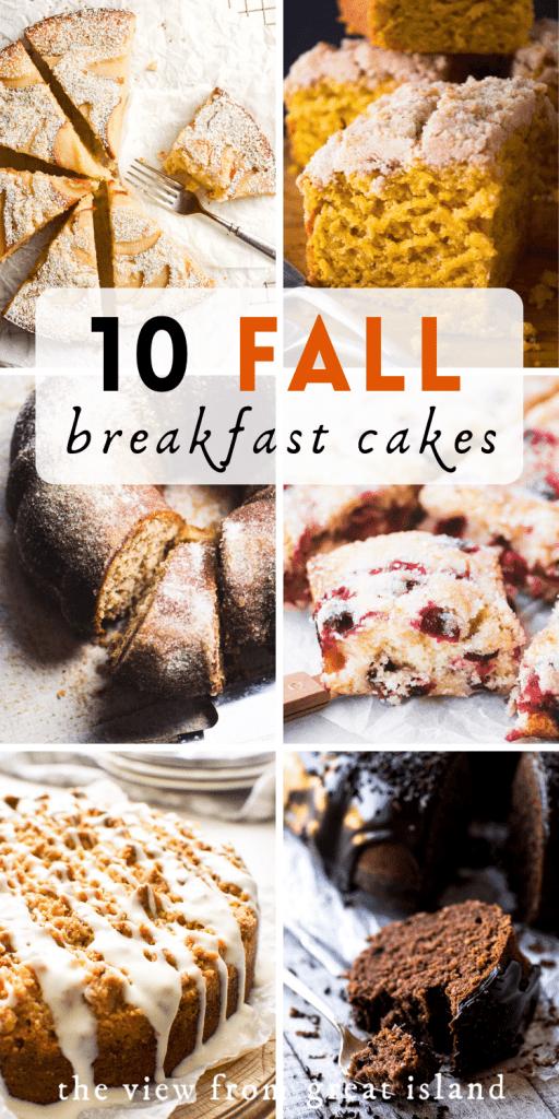 fall breakfast cakes pin