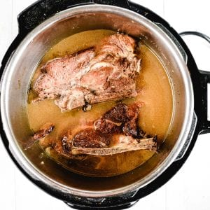 Fork tender pork shoulder in Instant Pot