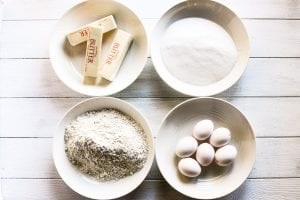 room temperature ingredients for pound cake