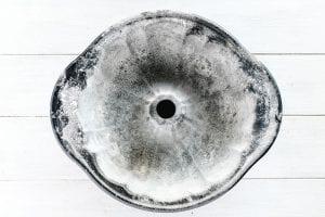 prepped bundt pan