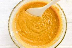 pumpkin cornbread batter