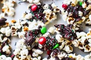 Holiday popcorn