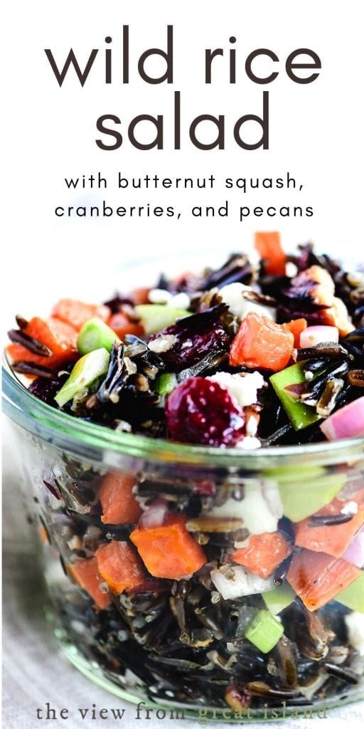 wild rice salad pin