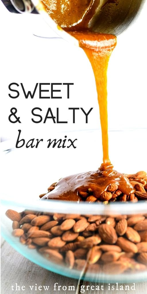 sweet and spicy bar mix pin