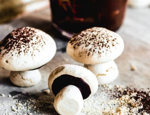 meringue mushroom cookies