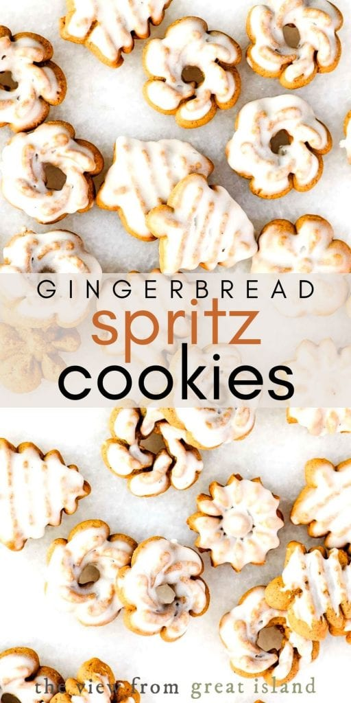 gingerbread spritz pin