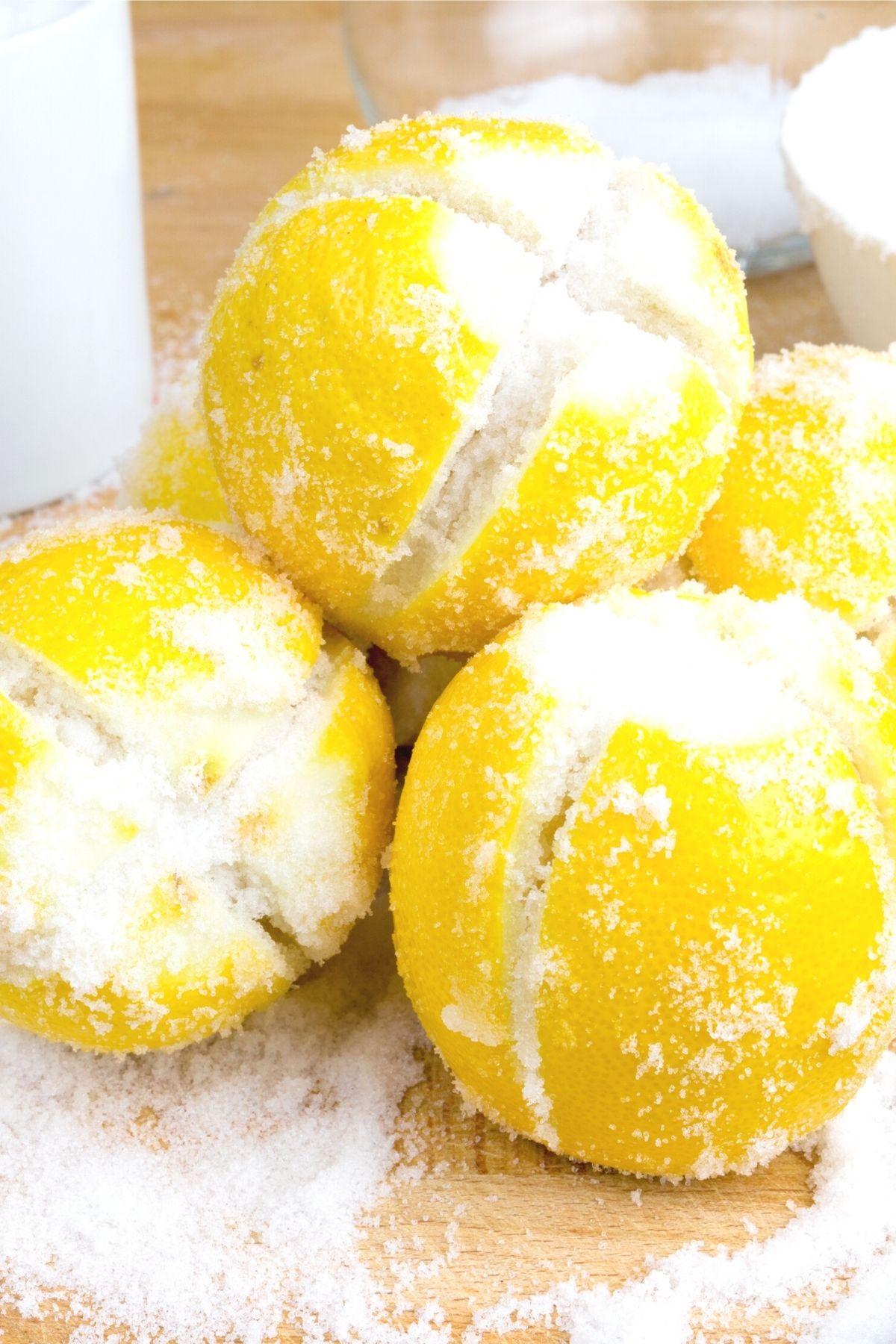 preserving lemons in salt brine