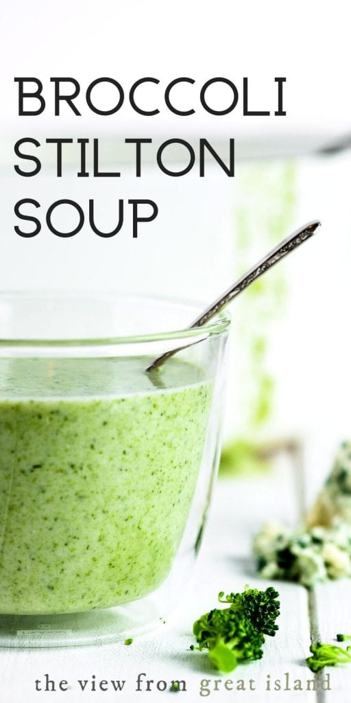 broccoli stilton soup