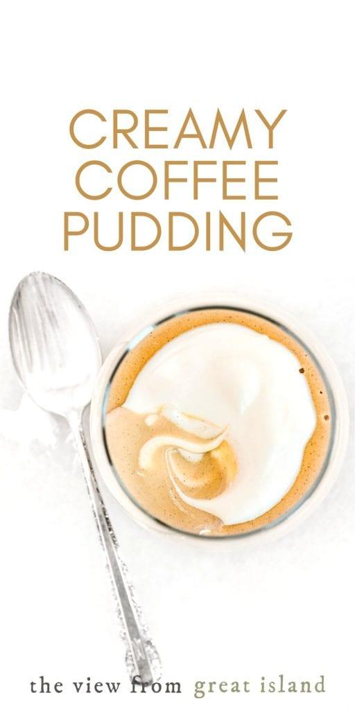 coffee pudding pin