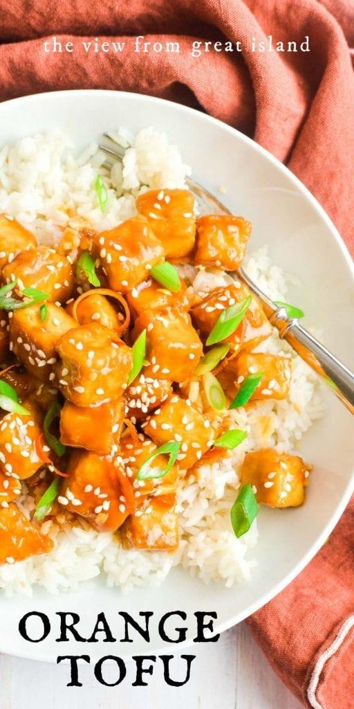 orange tofu pin