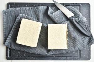 2 blocks of tofu, draining