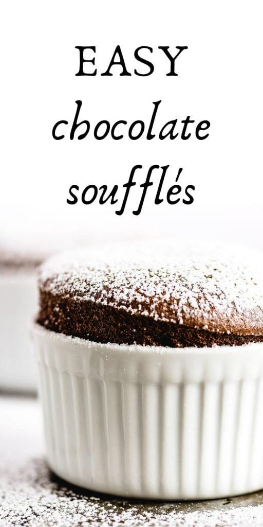 chocolate souffle pin