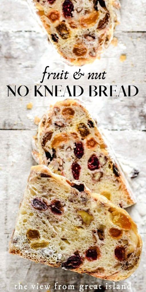no knead bread pin