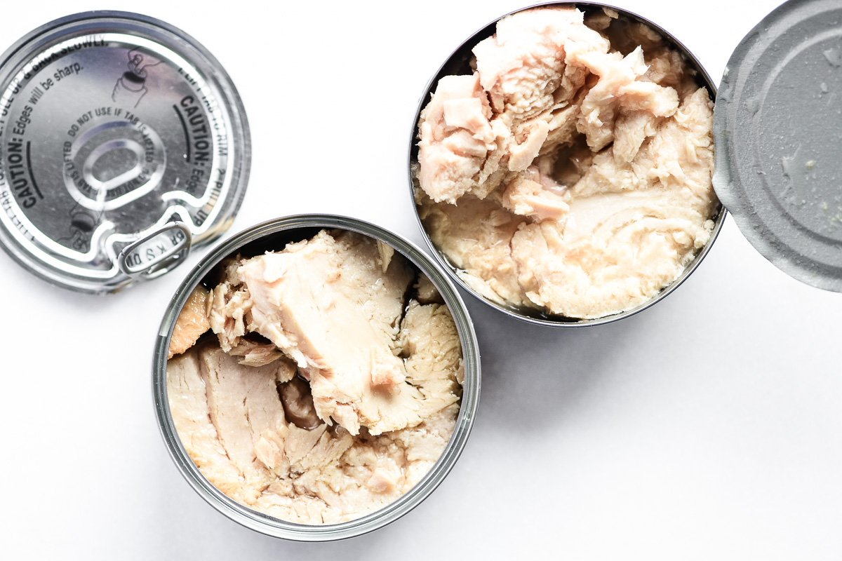 Italian oil packed versus water packed tuna