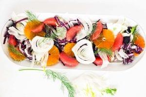 fennel, radicchio and citrus salad