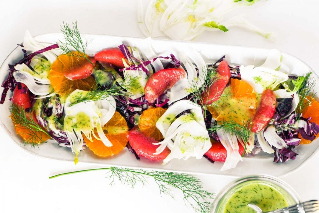 fennel and citrus salad