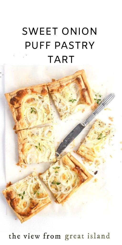 onion tart pin