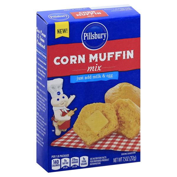 Pillsbury corn muffin mix