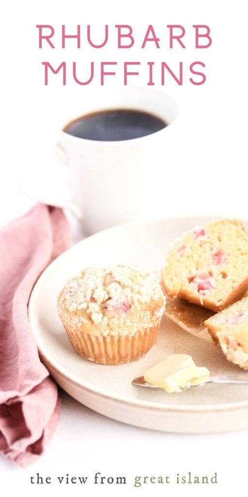 rhubarb muffin pin