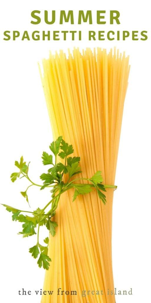 summer spaghetti pin