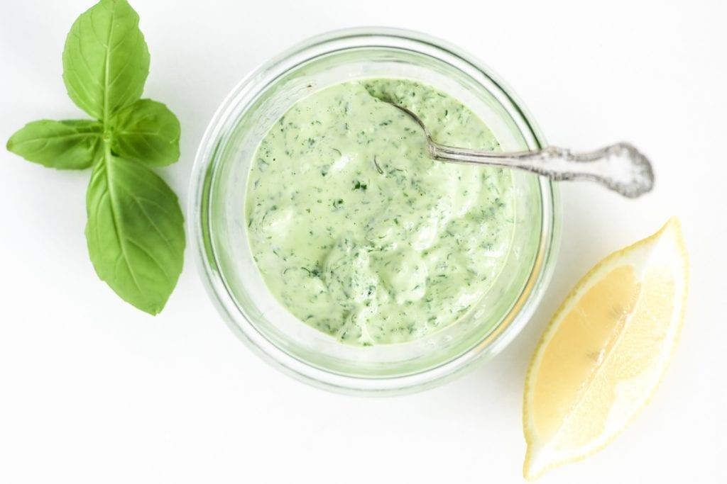 basil mayonnaise