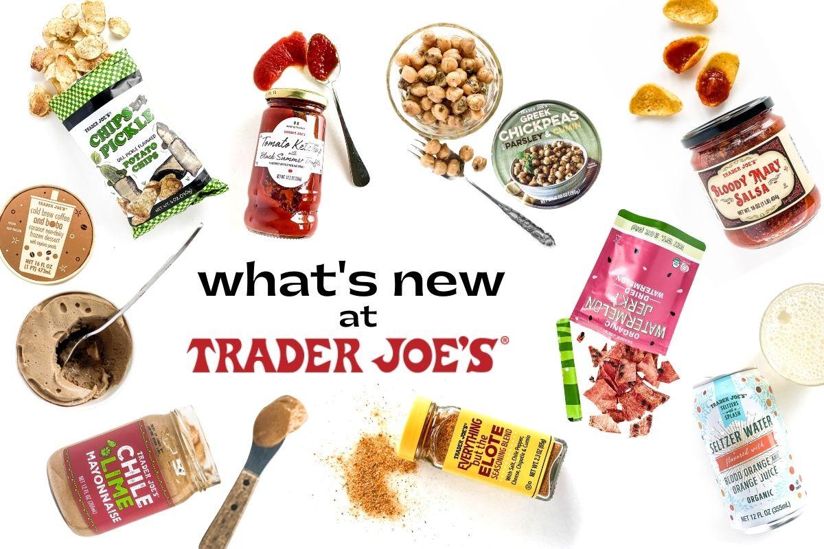new at Trader Joe's