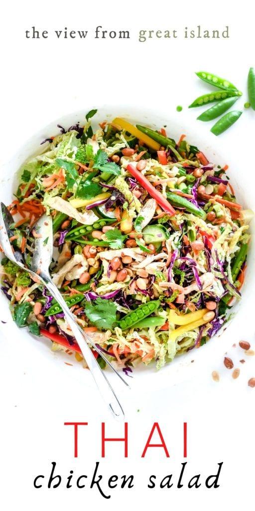 Thai chicken salad pin