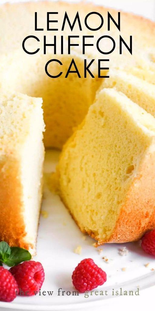 lemon chiffon cake pin