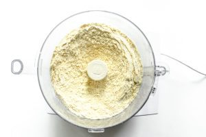 making biscuit dough in food processor
