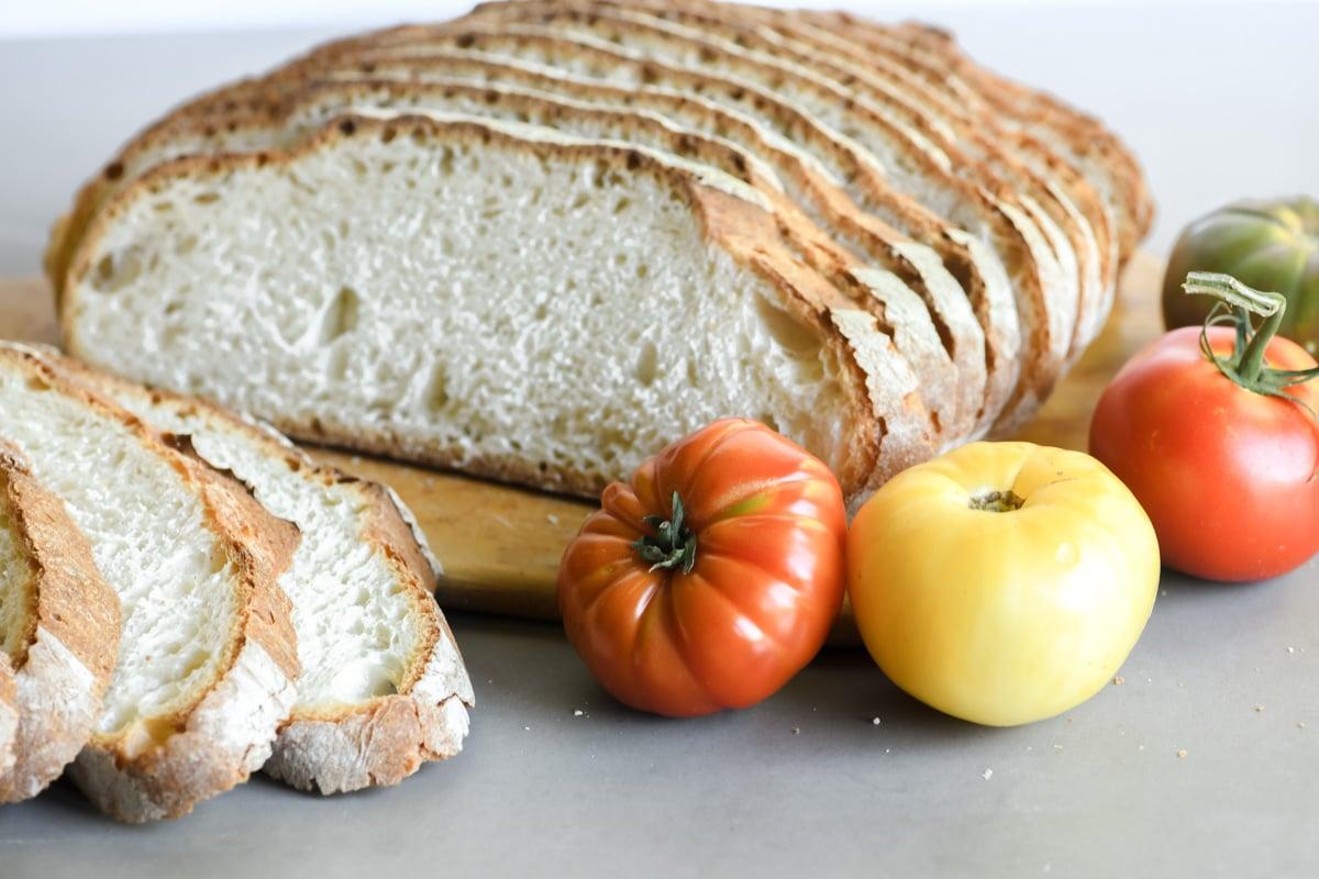 artisan bread for pan con tomate