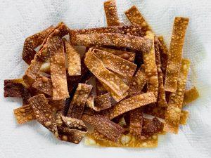 fried wonton strips